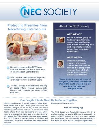 NEC 1-sheet